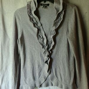 White house Black Market clip up cardigan